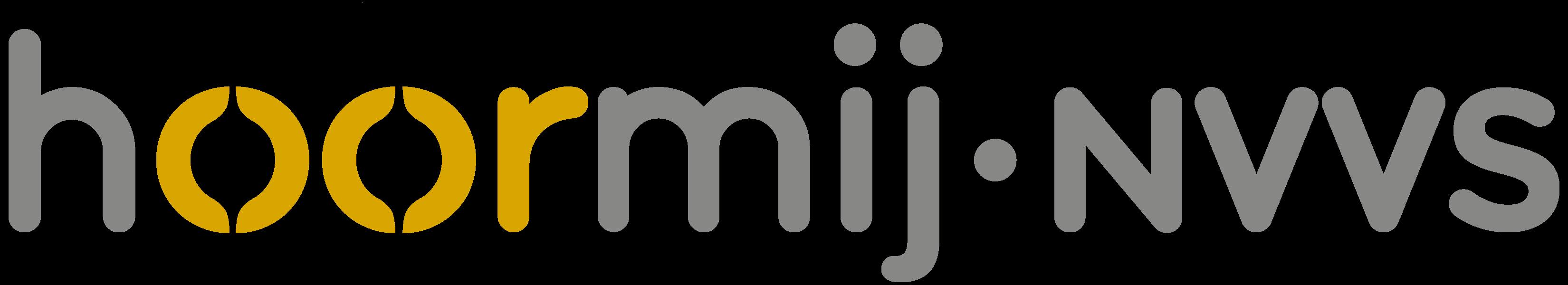 Hoormij NVVS logo